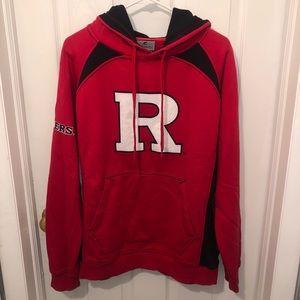 RUTGERS red hooded sweatshirt